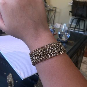 MICHAEL KORS- beautiful chain mail bracelet